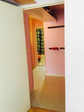 Le grand couloir et ses rangements