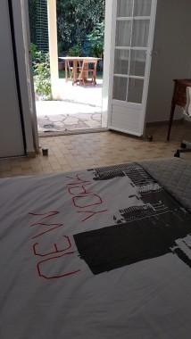 balcon attenante à la chambre