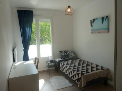chambre 2 lit simple